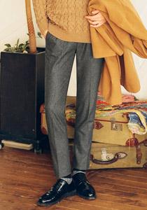 언제나 입을 수 있는 따뜻한 슬렉스